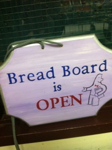 The sign soon to be shown in the window of the Breadboard classroom