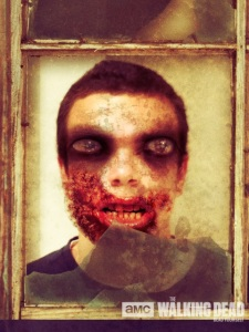 Zombified Pete Creed Thanks to AMC's Deadify App