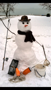 A festive snowman  Photo by: Ben C