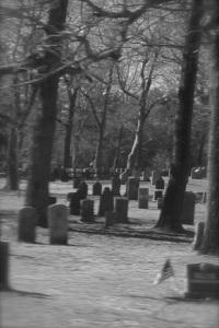 Graveyard in Duxbury