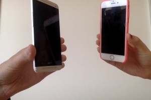 iPhone 6 battles the HTC One