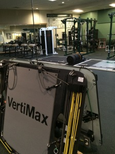 One of the three Vertimax systems bought for the new school.