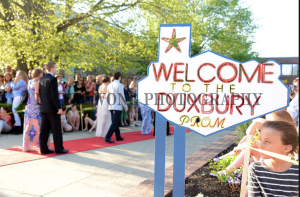 The red carpet at the 2014 DHS Prom. Picture courtesy of Karen Wong