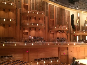 DHS music students taking in all Strathmore Hall has to offer. Picture Courtesy of Jill S.